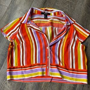 F21 Contemporary Button Up